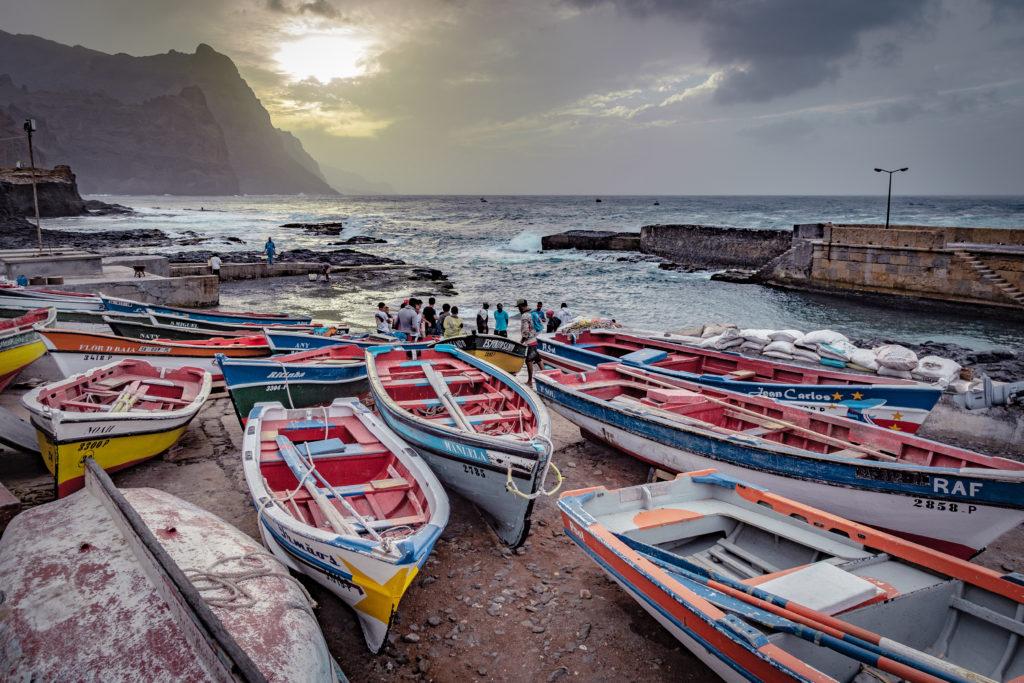 """Audrey Viste, Photographe Professionnelle à Montpellier : Photographie Paysages, Voyages """"Pêcheurs de Ponta Do Sol"""""""